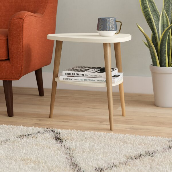 Ulrey Wood End Table by George Oliver