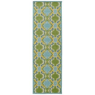 Domingues Machine Woven Blue Indoor/Outdoor Area Rug By Ebern Designs