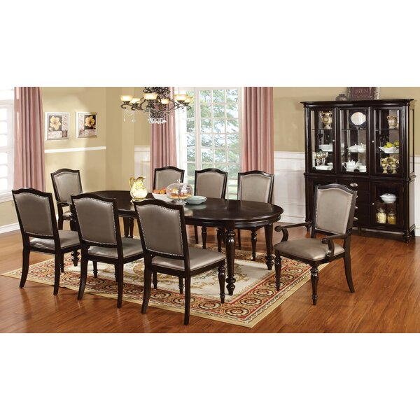 Cliffe 9 Piece Dining Set by Astoria Grand