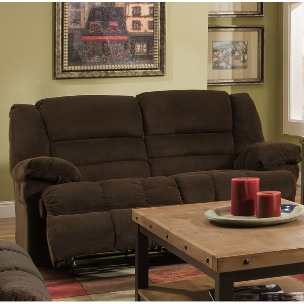 Best #1 Simmons Upholstery Welke Double Motion Reclining Loveseat By Red Barrel Studio Today Only Sale
