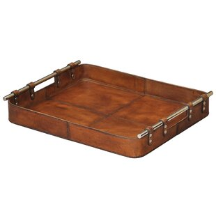 Super Leather & Faux Leather Decorative Trays You'll Love | Wayfair TK16