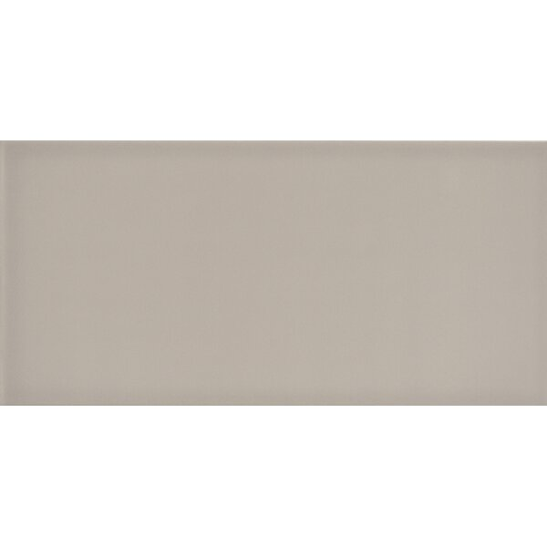 Ombre 6 x 12 Ceramic Subway Tile in Glossy Taupe by Emser Tile