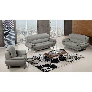 Labrecque 3 Piece Standard Living Room Set by Orren Ellis