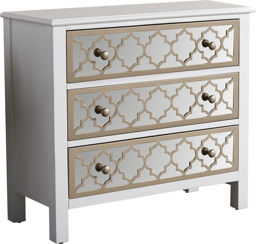 Mirrored Cabinets Chests Youll Love Wayfair - Colorful glass drawers that can form an art object