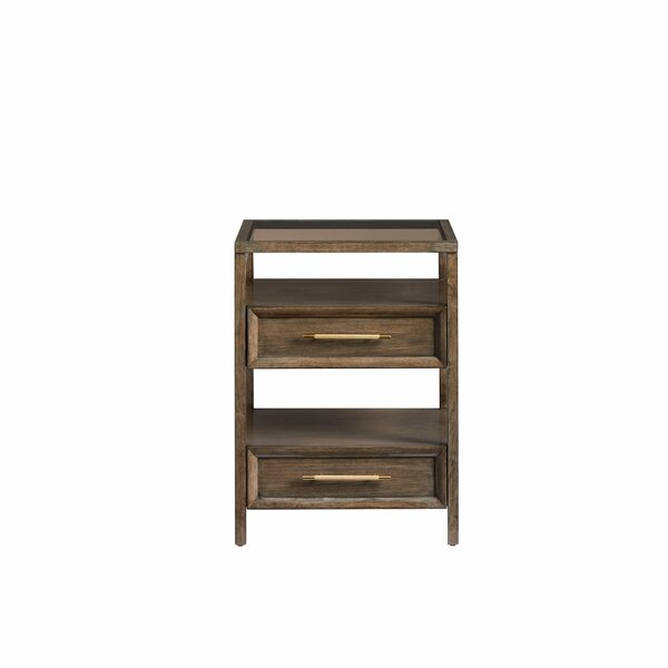 Panavista Multi-tiered End Table by Stanley Furniture
