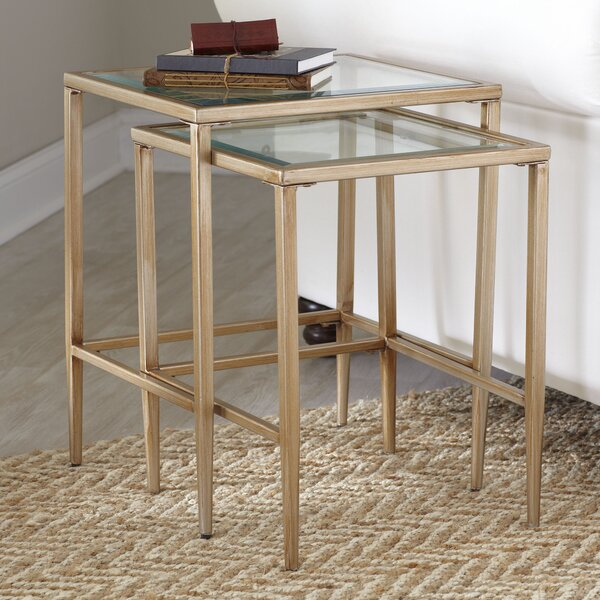 Nash Nesting Tables (Set of 2) by Birch Lane™