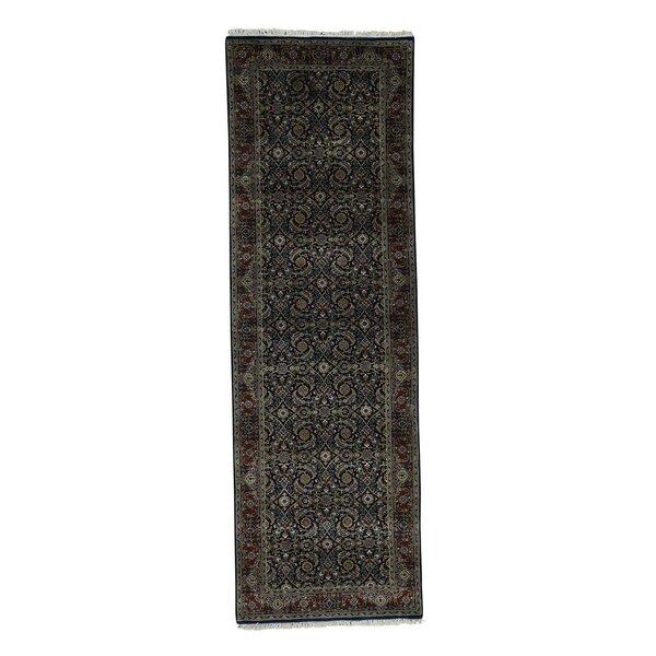 300 KPSI Herat Oriental Hand-Knotted Brown Area Rug by Bloomsbury Market