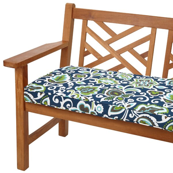 Dyer Indoor/Outdoor Bench Cushion by Red Barrel Studio