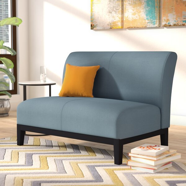 #1 Woods Settee By Wrought Studio 2019 Sale