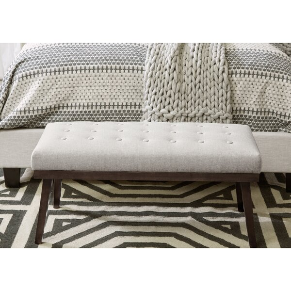 Jessia Upholstered Bench by Gracie Oaks