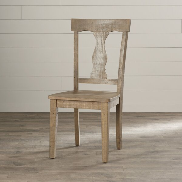 Damascus Solid Wood Dining Chair (Set of 2) by August Grove