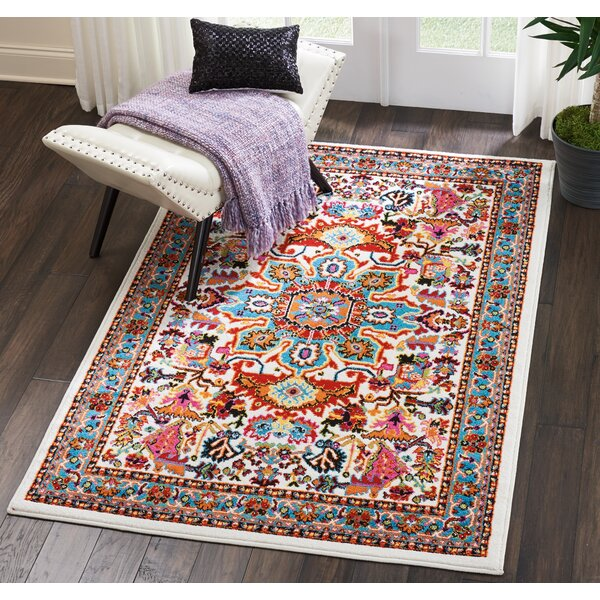 Cullens Ivory Area Rug by Bloomsbury Market