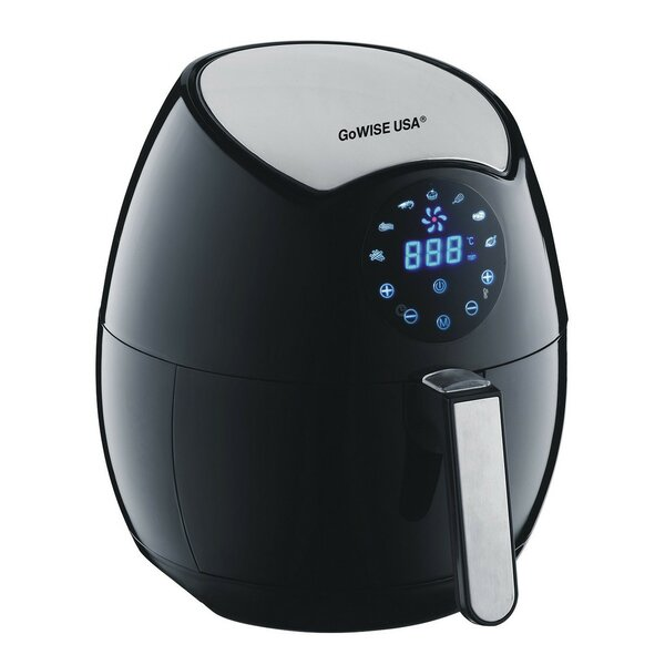 3.2-Liter 4th Generation Electric Air Fryer with Touchscreen by GoWISE USA
