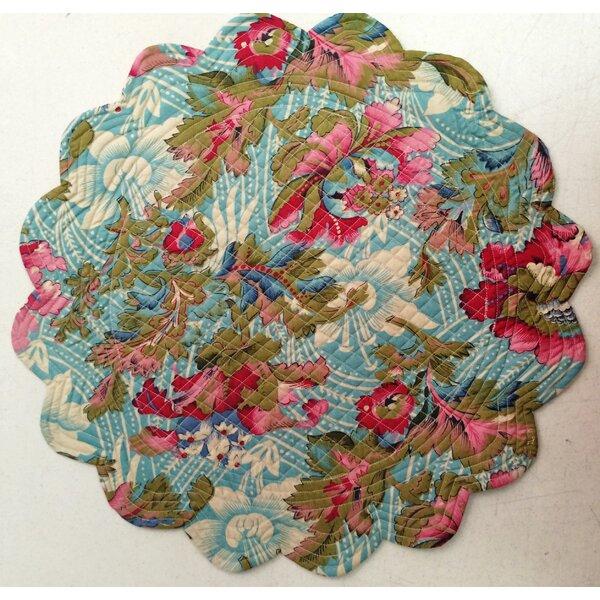 Peonies Reversible Placemat (Set of 6) by La Maisonnette