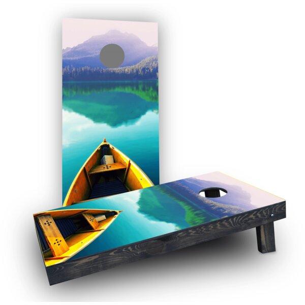 Boat Cornhole Boards (Set of 2) by Custom Cornhole Boards