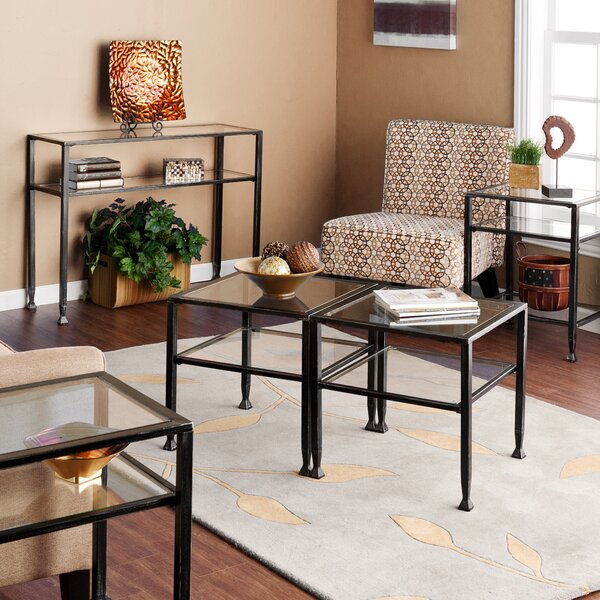 Hancock 5 Piece Coffee Table Set by Wildon Home ®