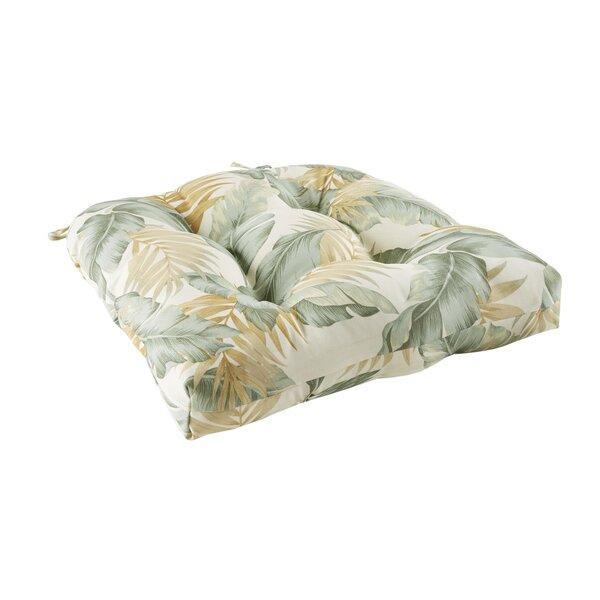 Swiger Leaf 3M Scotchgard Outdoor Dining Chair Cushion by Bay Isle Home