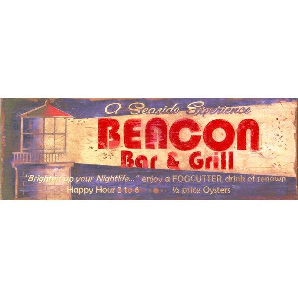 Beacon Vintage Advertisement Plaque by Winston Porter