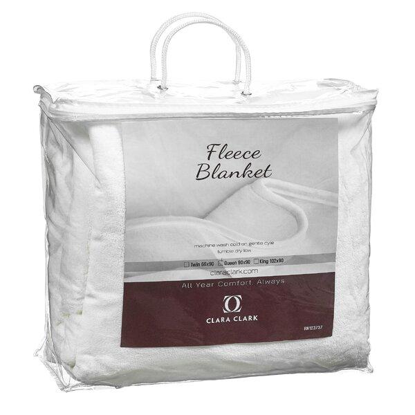 Luxury Warm Microplush Fleece Blanket by Clara Clark
