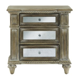 Porath 3 Drawer Bachelor's Chest by One Allium Way