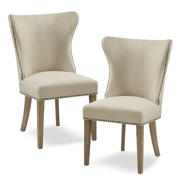 Frida Upholstered Dining Chair (Set of 2) by Gracie Oaks