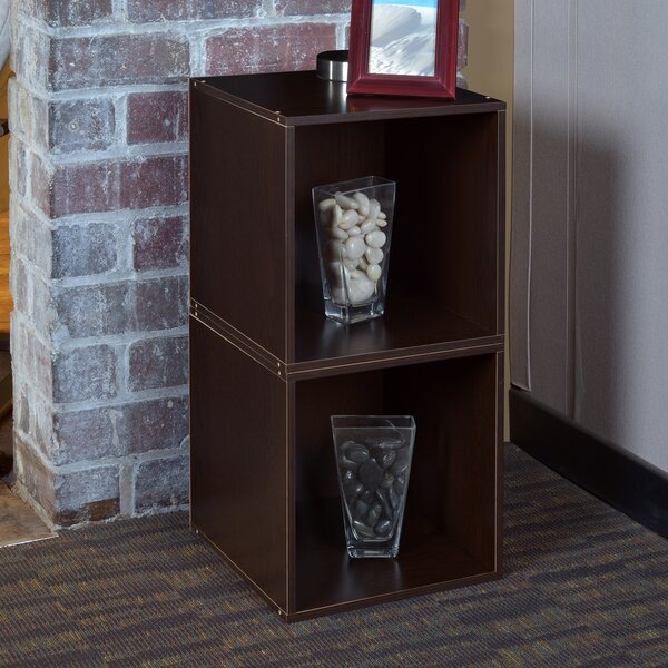 Cube Unit Bookcase (Set of 2) by Rebrilliant