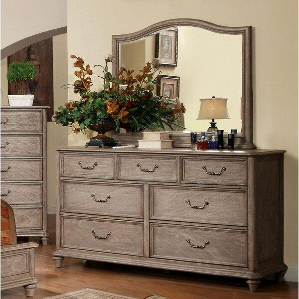 Bandit 7 Drawer Dresser with Mirror by One Allium Way