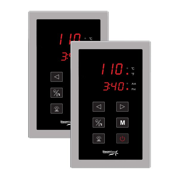 SteamSpa Dual Touch Panel Control System by Steam Spa