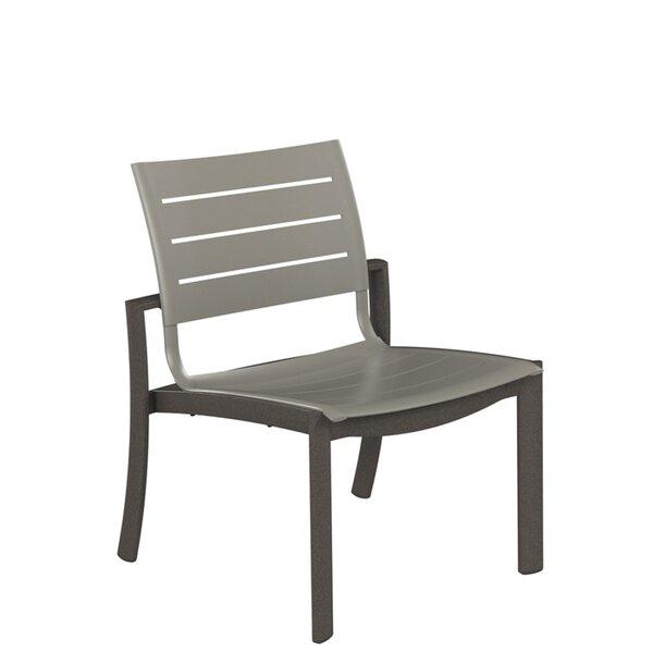 Kor Aluminum Slat Patio Dining Chair by Tropitone