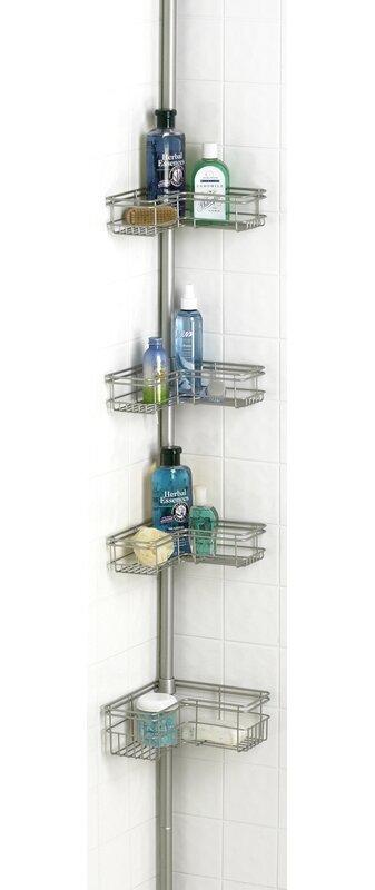 Zipcode Design Kohut L Shape Corner Shower Caddy & Reviews   Wayfair