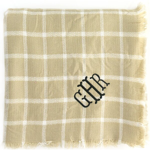Personalized Blanket Scarf by Heartstrings