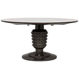 Yoshiko Solid Wood Dining Table by Noir