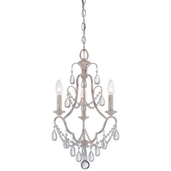 Alderson 3 - Light Candle Style Empire Chandelier by Ophelia & Co. Ophelia & Co.