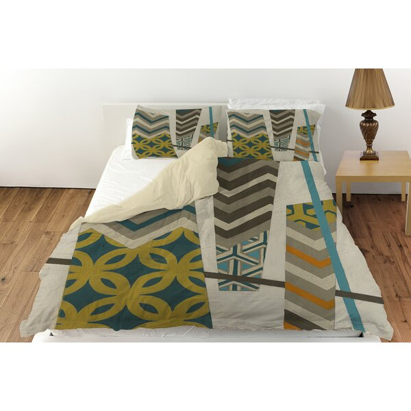 Abstract Scrapbook Duvet Cover Collection