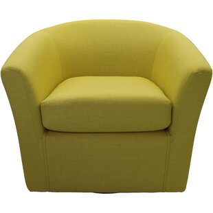 Barrel Yellow Accent Chairs Youu0027ll Love | Wayfair