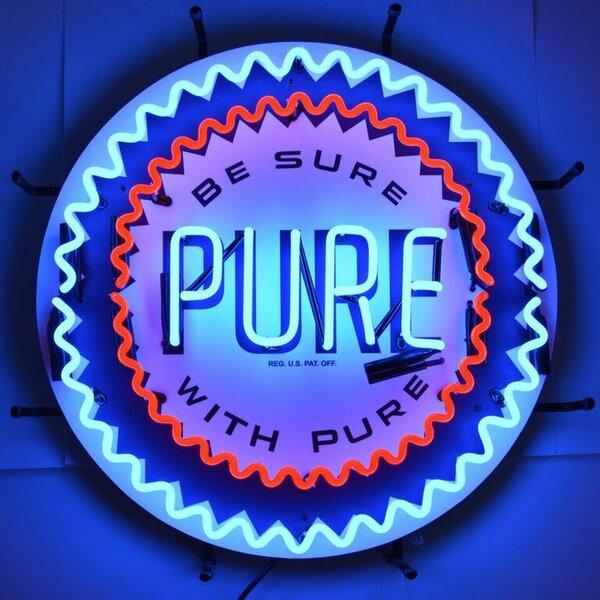 Pure Gasoline Neon Sign by Neonetics