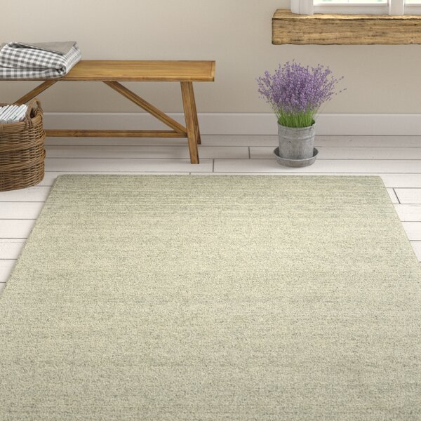 Glenn Hand-Tufted Smoke Area Rug by Gracie Oaks