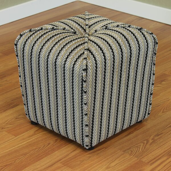 Coggins Cube Ottoman by Red Barrel Studio
