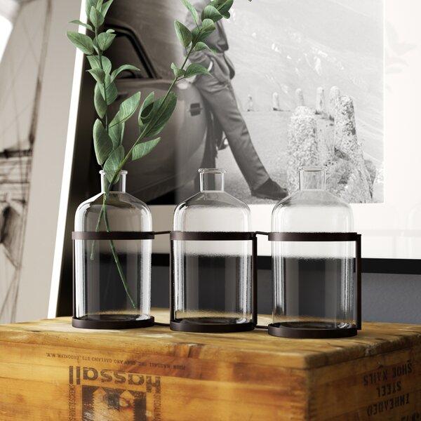 Diwali 3 Piece Decorative Bottle Set (Set of 3) by Trent Austin Design