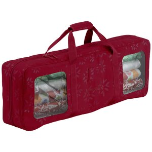 Gift Wrapping Supplies Organizer and Storage Bag