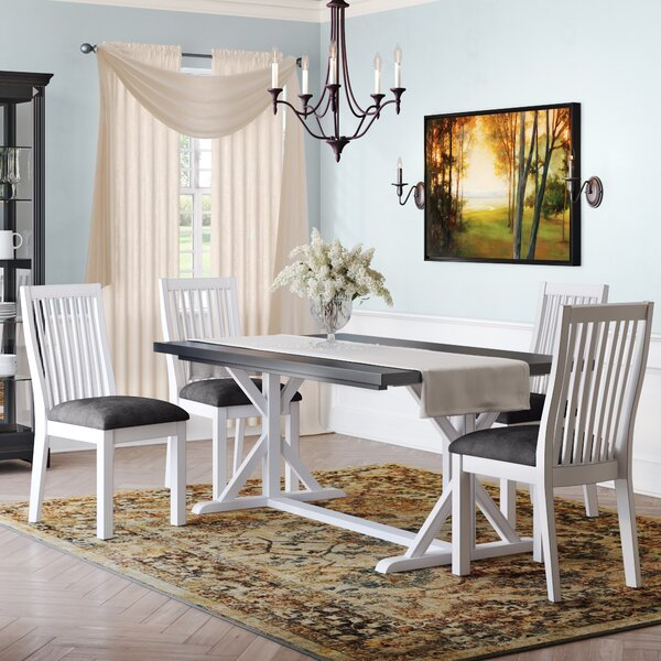 Adamou 5 Piece Dining Set by August Grove August Grove
