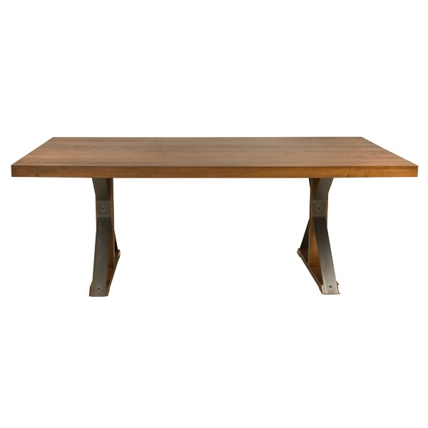 Beldale Extendable Solid Wood Dining Table by Union Rustic Union Rustic