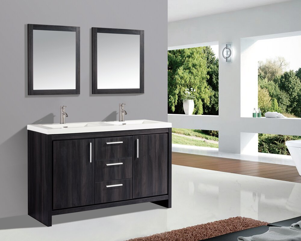 gray size essentials most countertop vessel sufficient vanities the tobacco ideas for decoration modern bathroom full find double this inch bath you top unit depot tops storage features best vanity dual design of inside ll sink home madison which