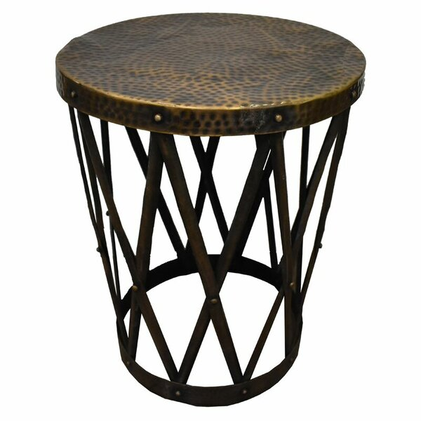 Millsboro Metal Side Table by Bloomsbury Market