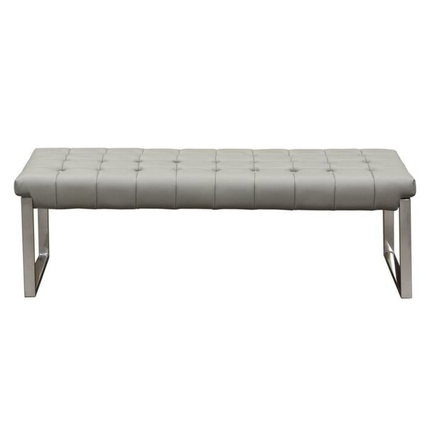 Tawanna Faux Leather Bench