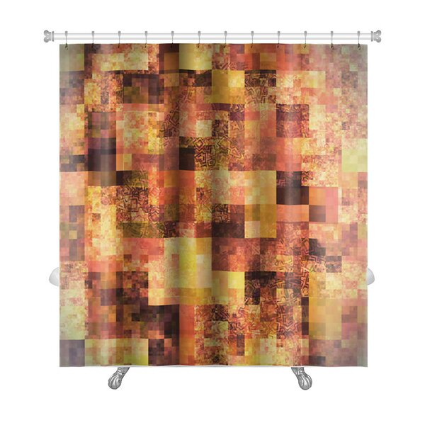 Art Touch Abstract Bright with Mosaic Premium Shower Curtain by Gear New