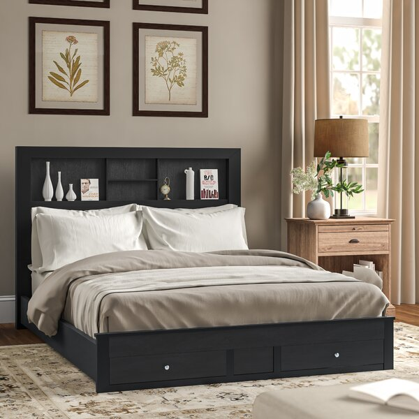 Kennon Storage Platform Bed by Three Posts