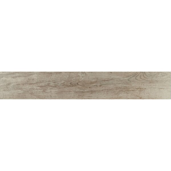 Season Wood 8 x 48 Porcelain Wood Look Tile in Orchard Grey by Daltile