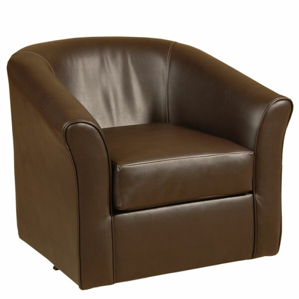 Swivel Barrel Chair by Serta Upholstery