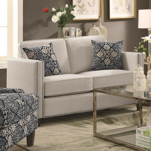 Latest Fashion Bessette Transitional Loveseat Shopping Special: